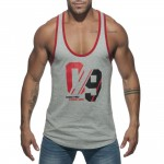 Addicted AD723 Sportowy Tank Top C-11 szary